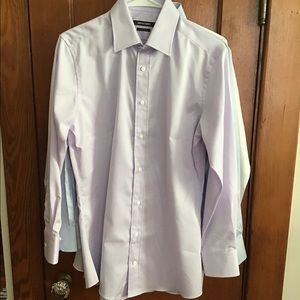 Custom Lilac button up size small.